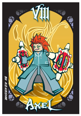 KH2 - Axel - badge art by Kieshar