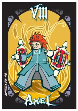 KH2 - Axel - badge art by Kieshar