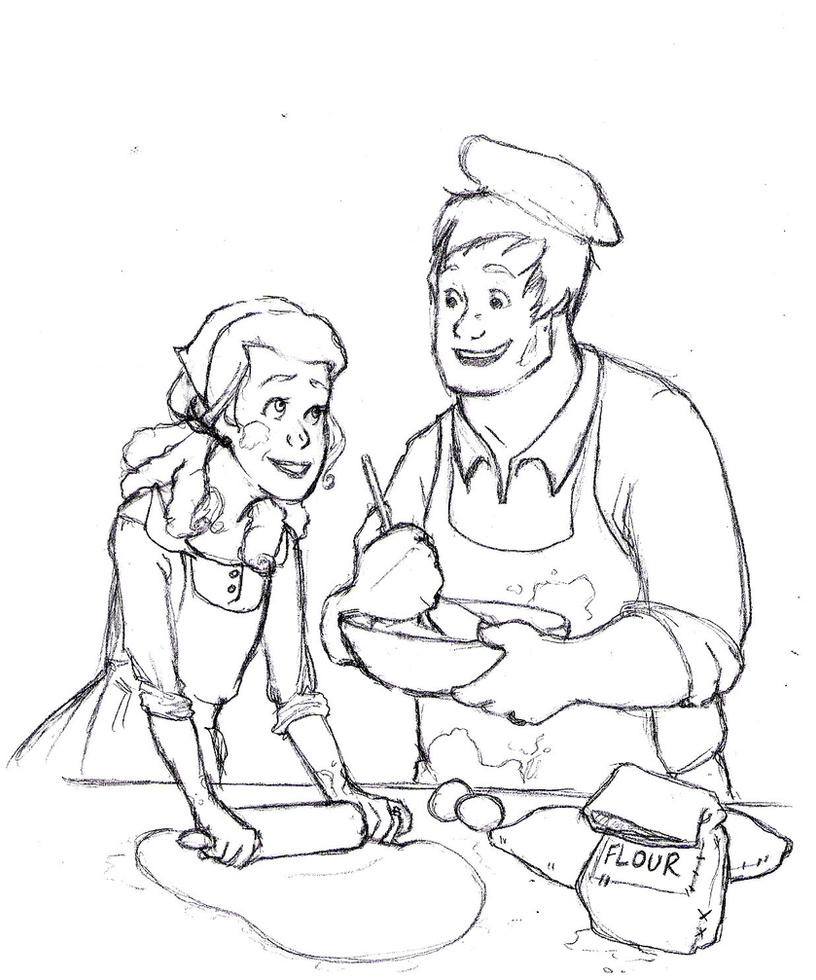 anastasia and the baker by teddystwin on deviantart