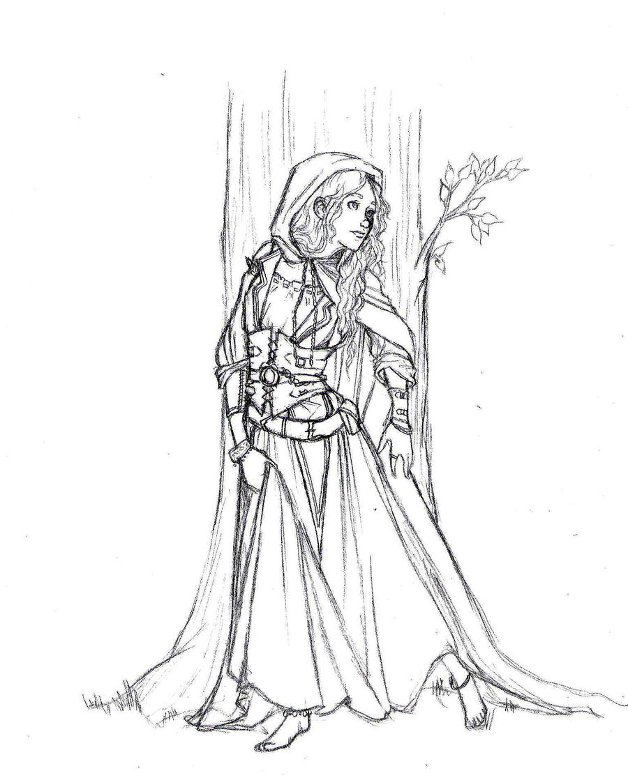 Renaissance Princess Coloring Pages : The gypsy princess by teddystwin on deviantart