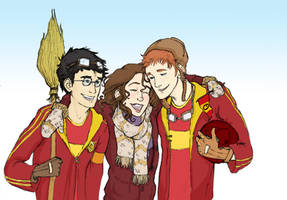Gryffindor Victory by TeddysTwin
