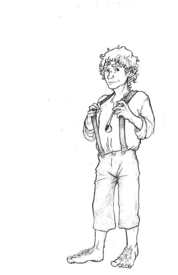 hobbit character coloring pages - photo#12