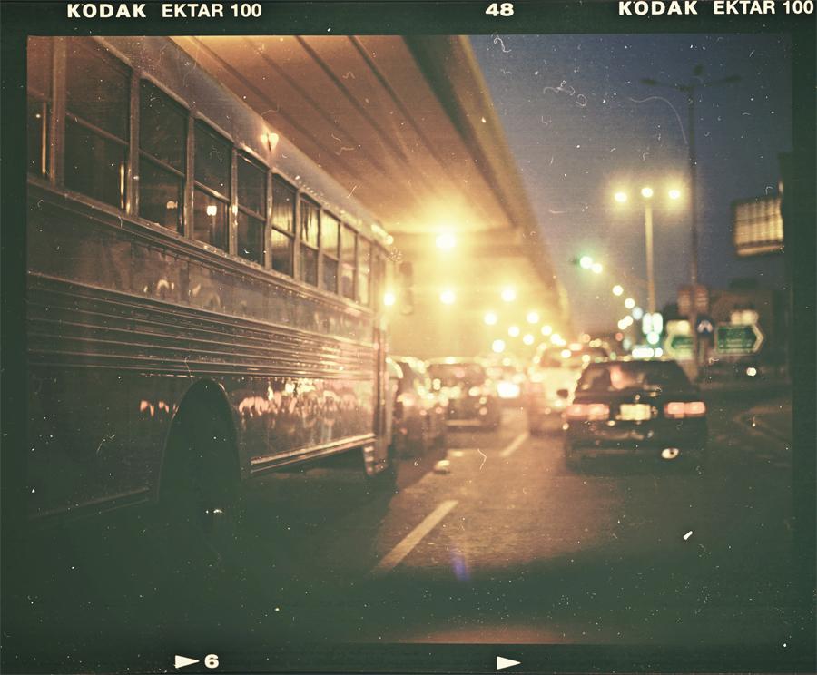 Night lights my dusty Ektar by Fahad0850