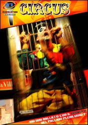 Circus the Musical Comics Version Copertina by Cornyfly