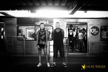 couple underground