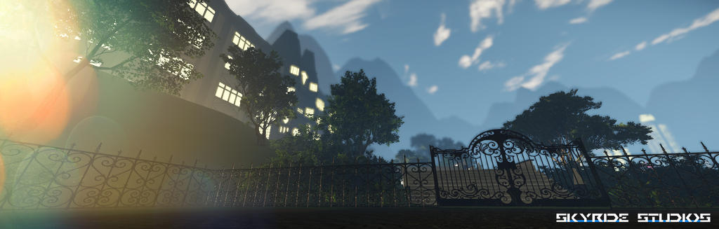 Lady Lynn Mansion Exterior (W.I.P.) by WillNovy