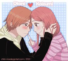 Lovely Complex:Otani x Koizumi by Chibi-Rina