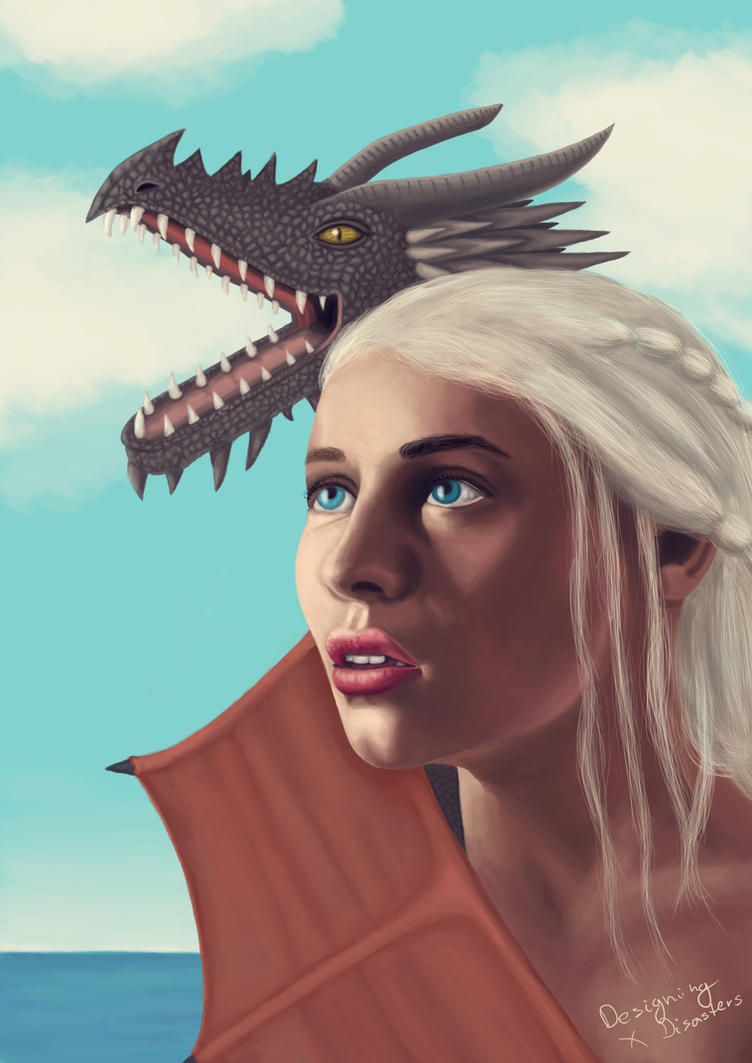 Mother of Dragons by designingdisasters