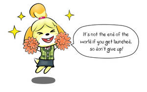 Isabelle's Cheers by GGkev