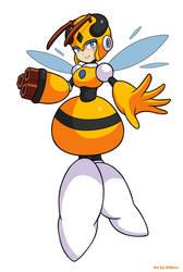 Robot Master Honey Woman