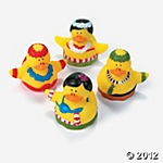 Hula Dancer Rubber Duckies by citybeachfremont