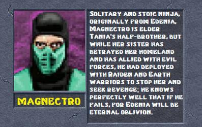 Magnectro bio by MK2Ninjas