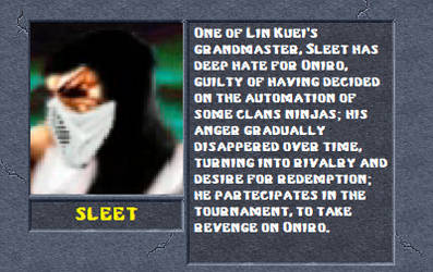 Sleet Bio by MK2Ninjas