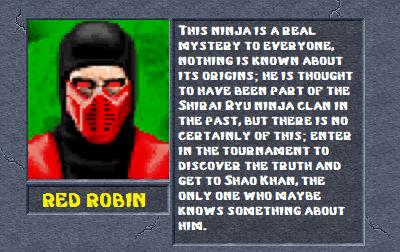 Red Robin bio