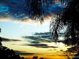 Blue Sunset by kingjulians
