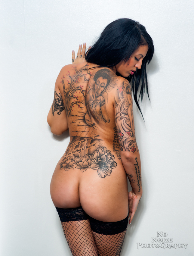 Baby Got Back Tatts by NoNoizePhotography