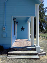 renovation: front porch by Stamps