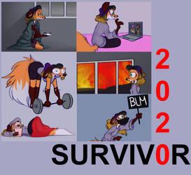 Guest Art: 2020 Survivor by Amber