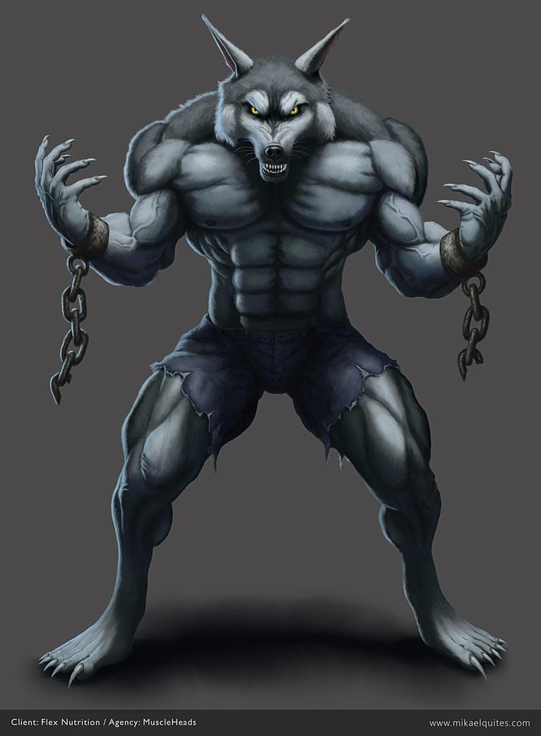 Werewolf - Lycan - Flex Nutrition by mikaelquites