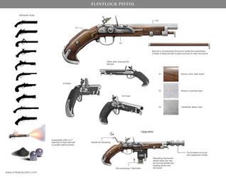 Flintlock Pistol by mikaelquites