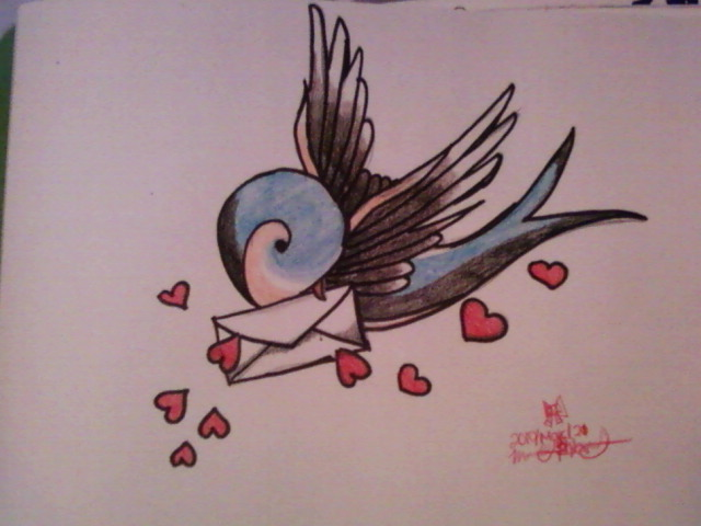 bird with 3 letters letter bird by flyleafxpiano on deviantart 20614 | love letter bird by flyleafxpiano
