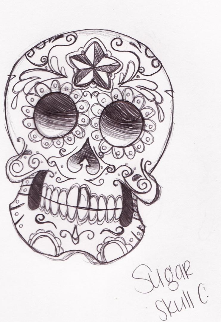 Sugar Skull Drawings