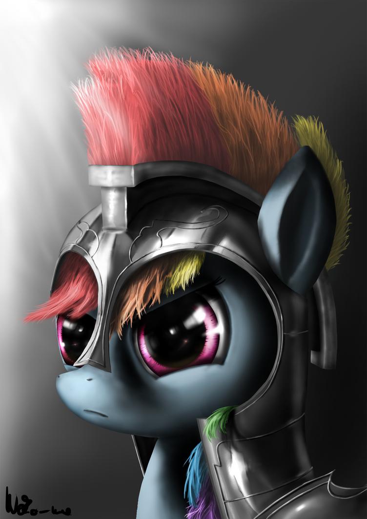 Commander Rainbow Dash by Neko-me