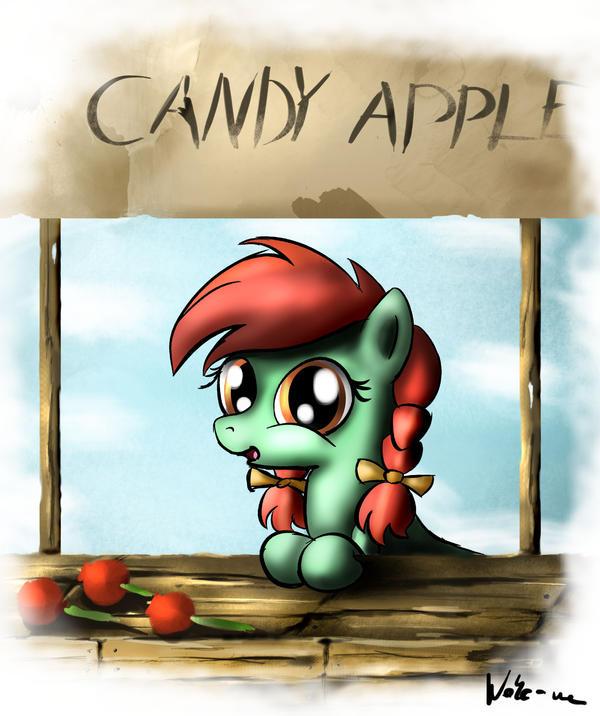 Candy Apple by Neko-me