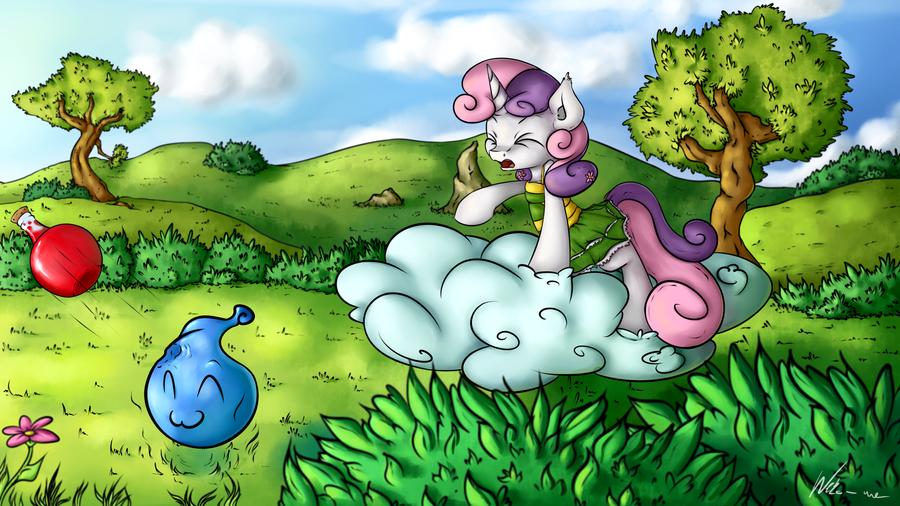 Sweetie Belle: Cute Attack by Neko-me