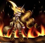 Equestria:Warzone - Empress Celestia Fire Avatar