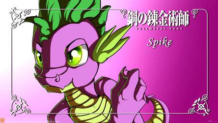 FullMetal Pony - Spike by Neko-me