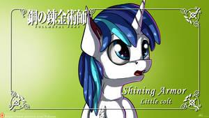 FullMetal Pony - Shining Armor : Little Colt