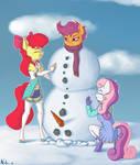 Apple Buruma Project - Snowman?