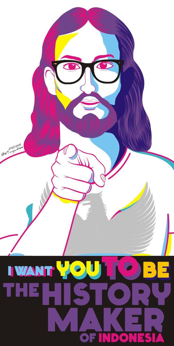 Creative Commons Attribution-Noncommercial-No Derivative Works 3.0 ...: febriasarela.deviantart.com/art/Jesus-Pop-Art-374139574