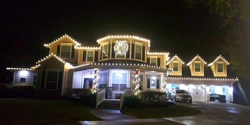 Kingdom Christmas Lights Warm White Decked out