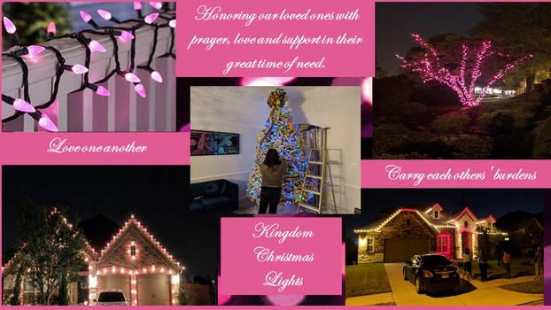 Kingdom Christmas lights Awareness Collage