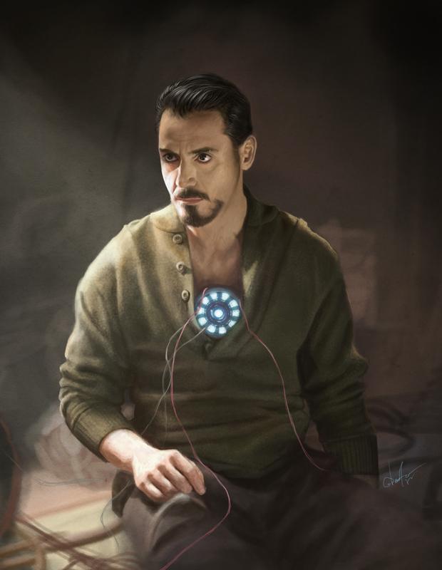 Tony Stark by Anastasia-berry