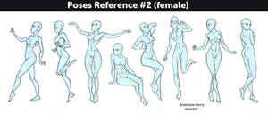 Poses Reference #2 (female)