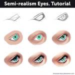 Semi-realism eyes - Tutorial #2