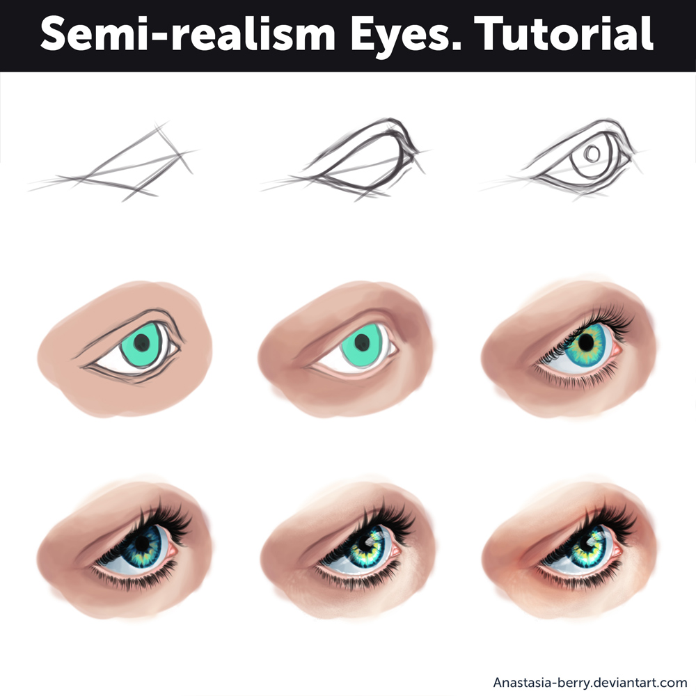 Semi Realism Nose Tutorial By Anastasia Berry On Deviantart
