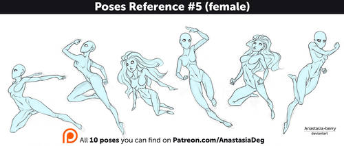 Poses Reference #5 (female)