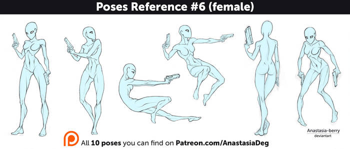 Poses Reference #6 (female)