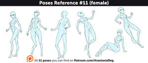 Poses Reference #11 (female)