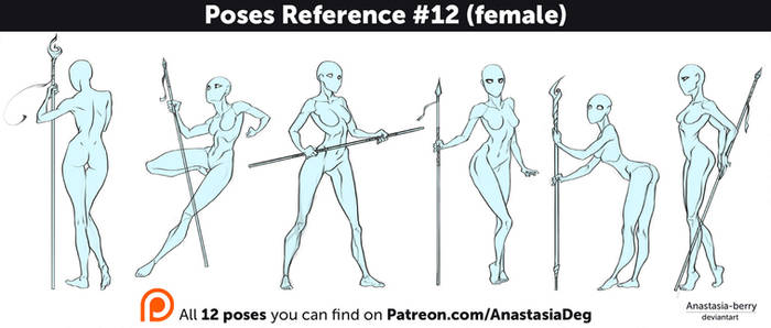 Poses Reference #12 (female)