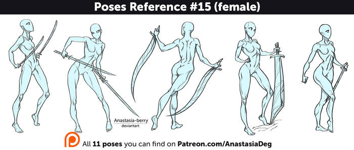 Poses Reference #15 (female)