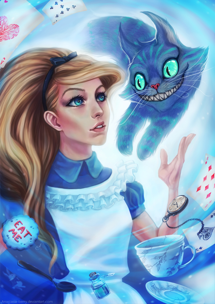 Alice in Wonderland by Anastasia-berry