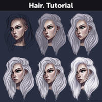 Hair. Tutorial by Anastasia-berry