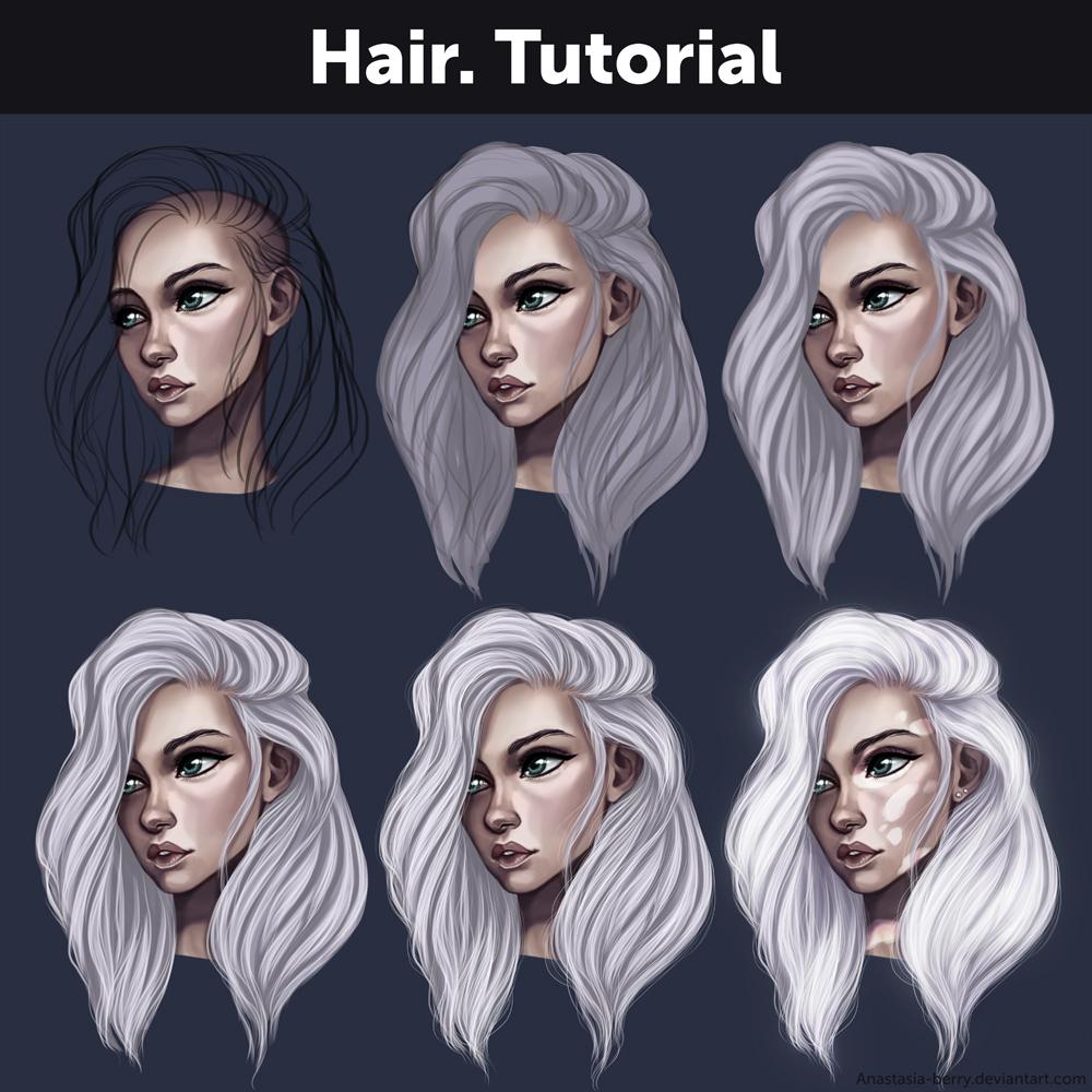 Hair. Tutorial