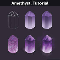 Amethyst. Tutorial by Anastasia-berry