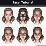 Face. Tutorial - Bottom light